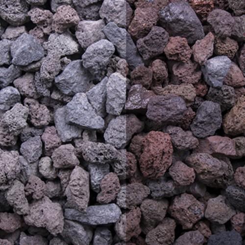 Lava Splitt 2-32 mm braun Lavadur