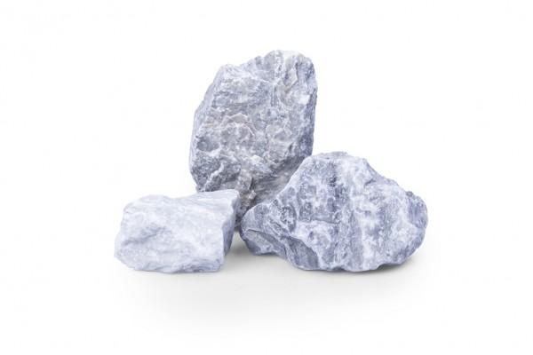 Kristall Blau 60-100 mm blau Marmor Gabione