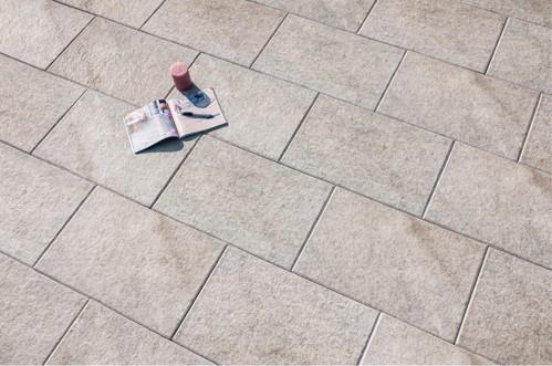 Terrassenplatte Caleo 60x40x4 cm taupe
