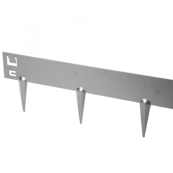 Beeteinfassung Stahl verzinkt 1,0 Meter