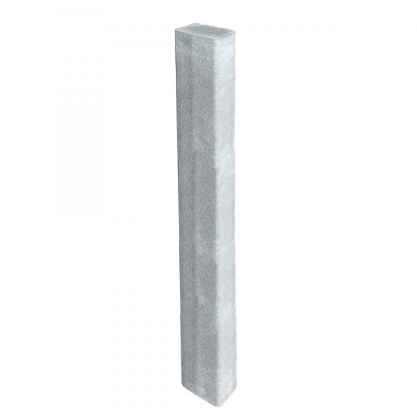 Rechteckpalisade grau 150 x 16,5 x 12 cm