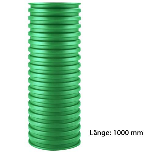 Schachtrohr DN 300 1,0 Meter grün PP