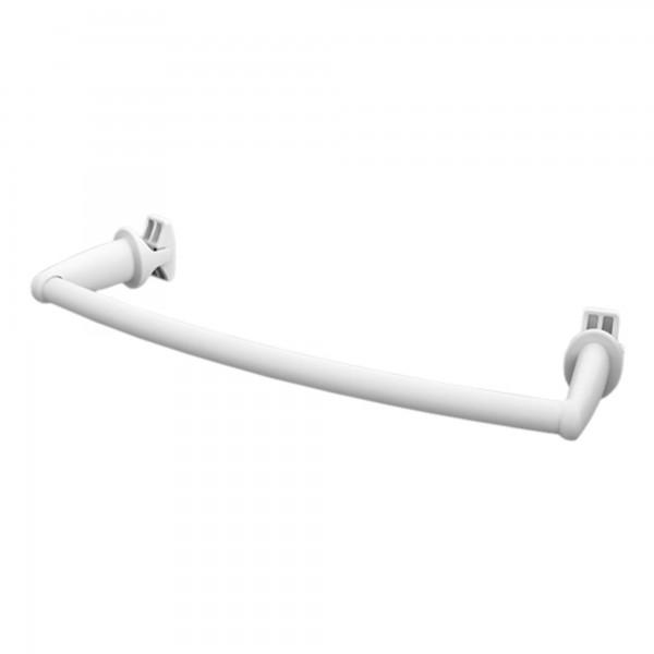 Ximax Handtuchstange Design gebogen 460 mm weiss