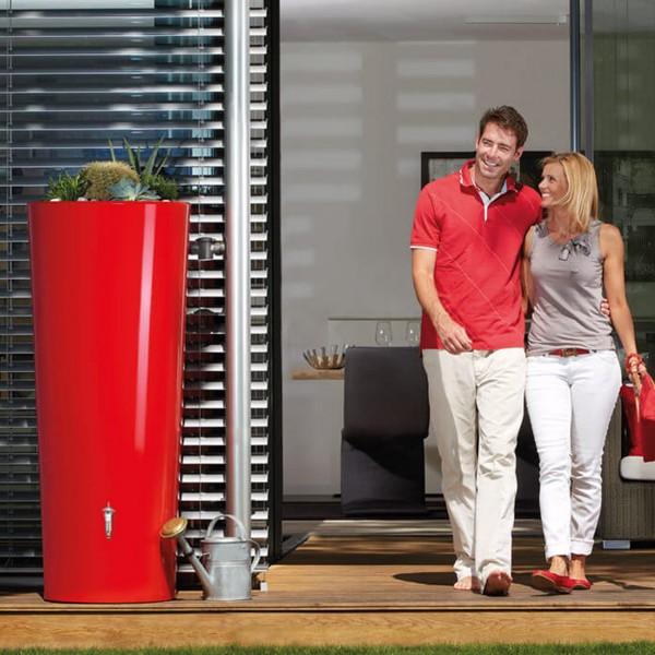 Regenwasserspeicher Color rot 350 L