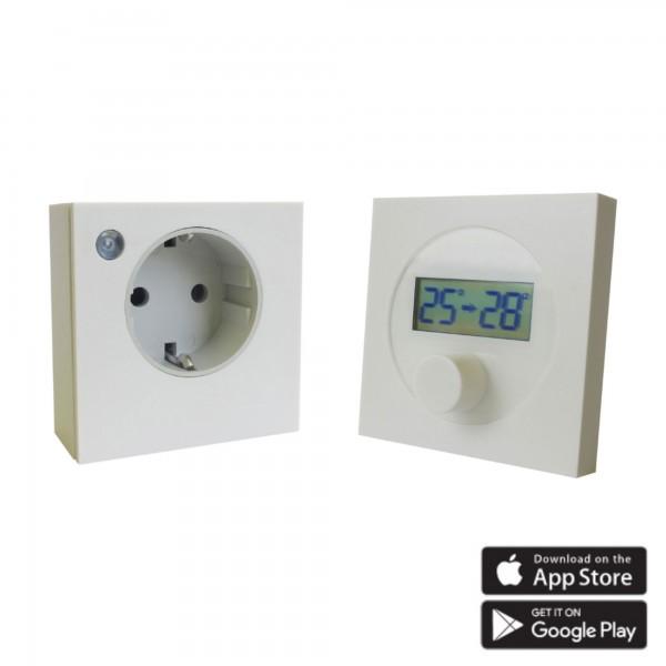 Ximax Heizkörper Funk-Thermostat Set für Infrarotheizungen