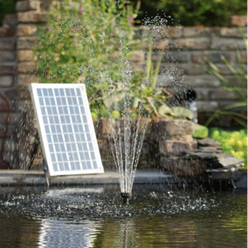 springbrunnenpumpe solar 600 vulkan wasserglocke gartenteich ab 99 00. Black Bedroom Furniture Sets. Home Design Ideas