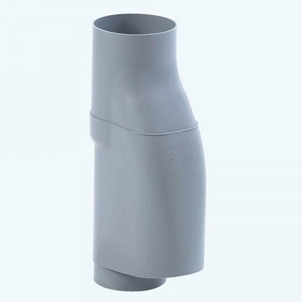 Laubabscheider DN 70-100 grau Fallrohrfilter