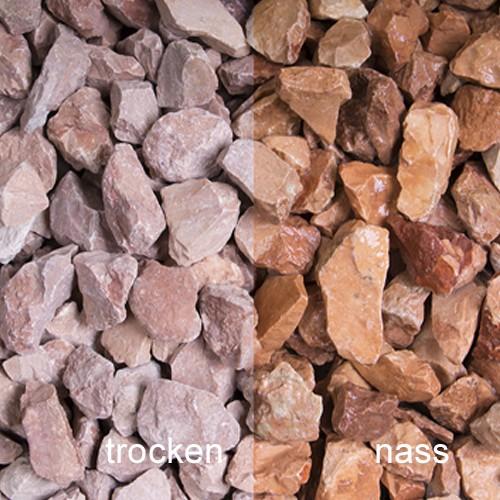 Rosso Verona Splitt 8-22 mm orange Marmor