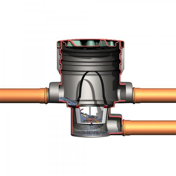 Erdfeinfilter Extern für Regenwassertank