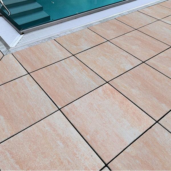 Terrassenplatte Diora sandstein 50x50x4 cm