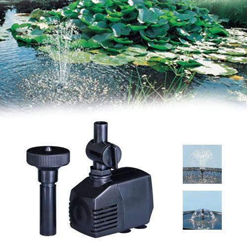 Xtra 1600 Springbrunnenpumpe 1600l/h - Vulkan- & Wasserglocke - Gartenteich