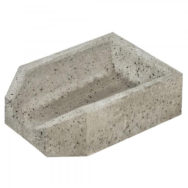Entwässerungsrinne Beton Einlaufstück