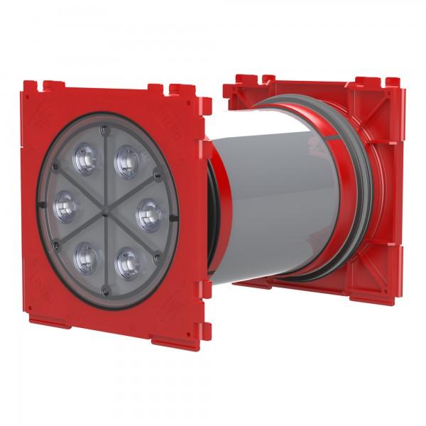 Doppel-Dichtpackung zum Einbetonieren HSI 90-K2/X