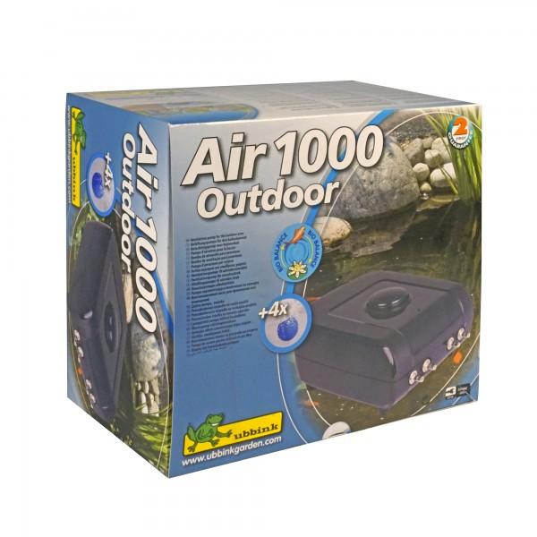 Sauerstoffpumpe Gartenteich Air 1000 Outdoor