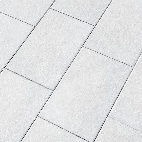 Terrassenplatte Belgische 60x40x4 cm grau weiss