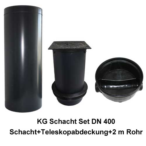 kg schacht set dn 400 befahrbar 12 5 t gerader durchlauf steigrohr 2 0 meter ab 275 00. Black Bedroom Furniture Sets. Home Design Ideas