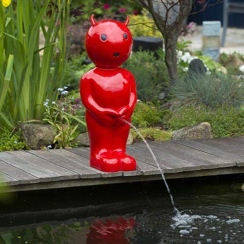 Wasserspiel Boy Teufel 45,5 cm Männeken Pis