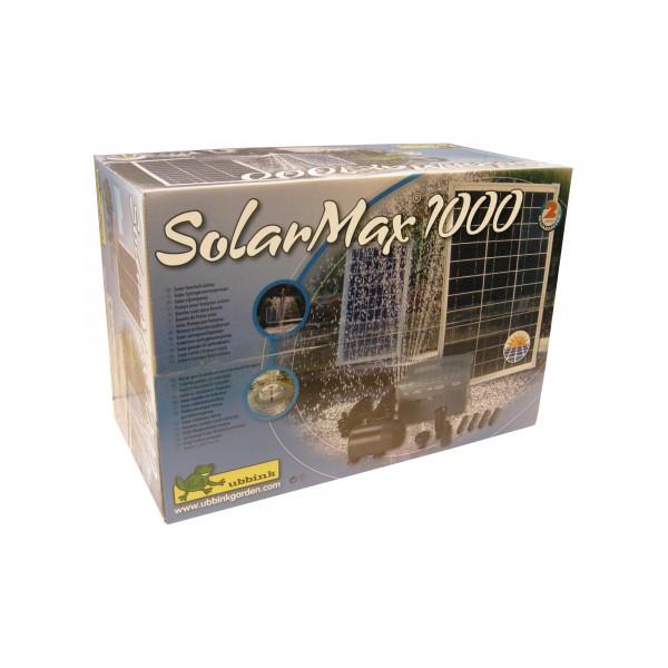 Springbrunnenpumpe inkl Solarpaneel 1000