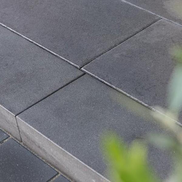 Blockstufe Edelia schwarz 100x35x15 cm