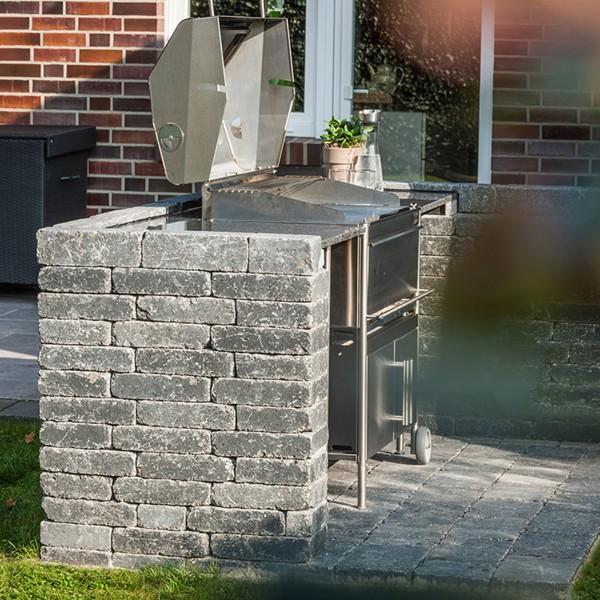 Siola Antik leicht Mauersteine basalt