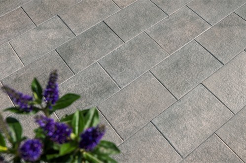 Terrassenplatte Caleo 60x40x4 cm basalt