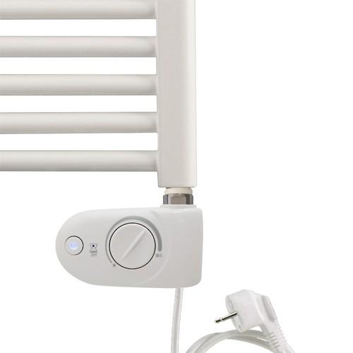 Heizstab Typ 3 - weiß oder chrom - Elektroheizung mit integriertem Thermostat