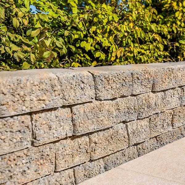 Mauerstein Riso Trapezmauerstein muschelkalk