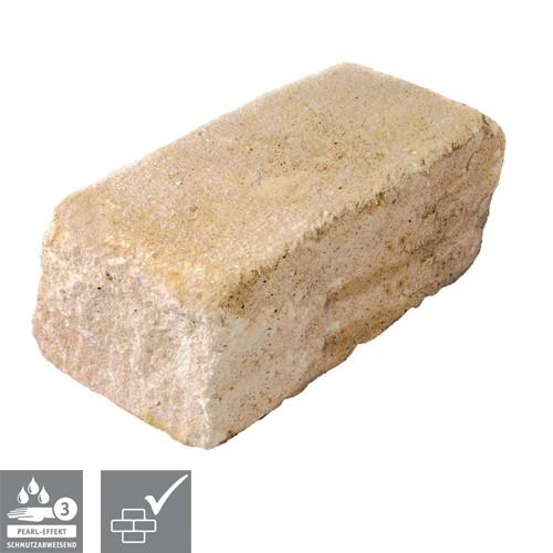 Trockenmauerstein Sandstein 35/16,5/15cm SIOLA®-MINI PE3