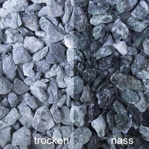 Kristall Grün Splitt 12-16 mm Marmor