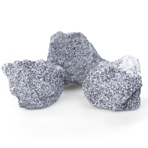 Granit schwarz grau 50 - 120 mm Steinmauer Gabione
