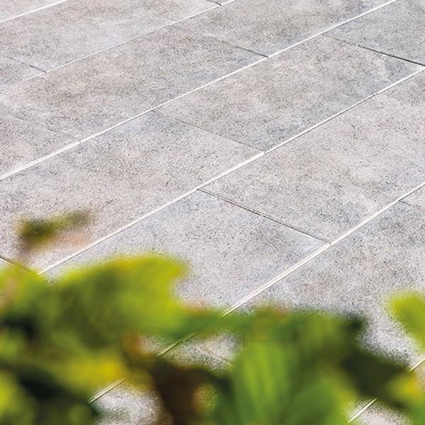 Terrassenplatte Asparo 80x40x4 cm quarz Beispiel