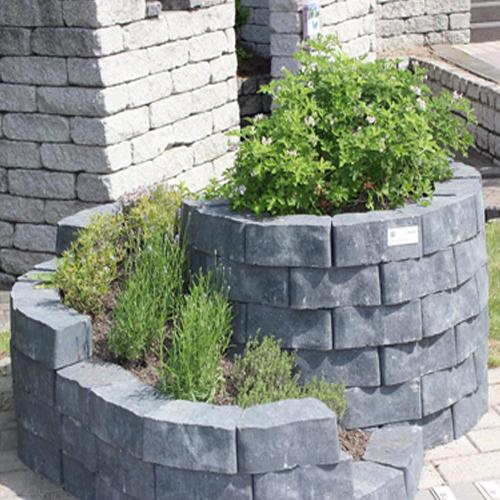 kr uterspirale floro aus stein quarzit kr uterschnecke 160. Black Bedroom Furniture Sets. Home Design Ideas