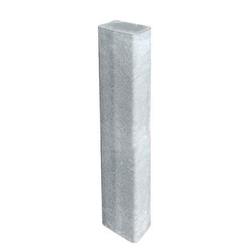 Rechteckpalisade grau 120 x 16,5 x 12 cm