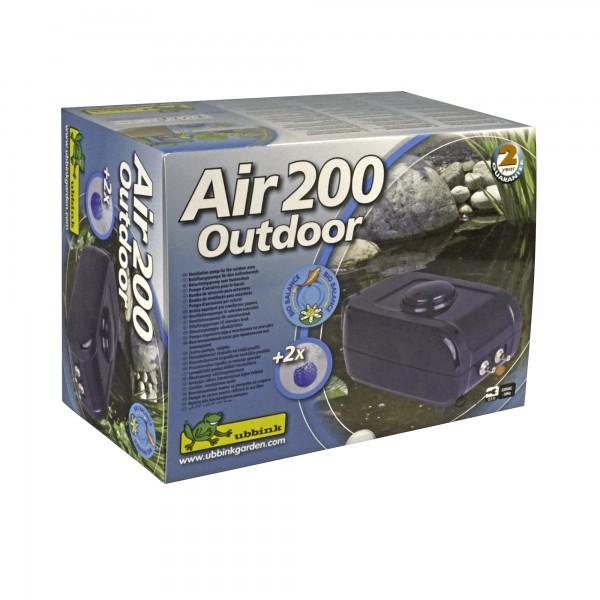 Sauerstoffpumpe Gartenteich Air 200