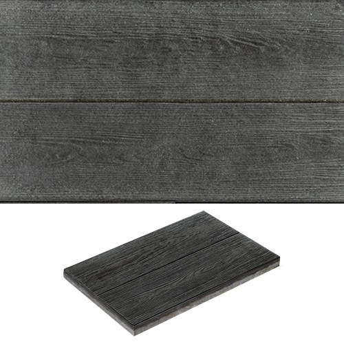 Terrassenplatte 60x40x4 cm Nartura Holzdielenoptik